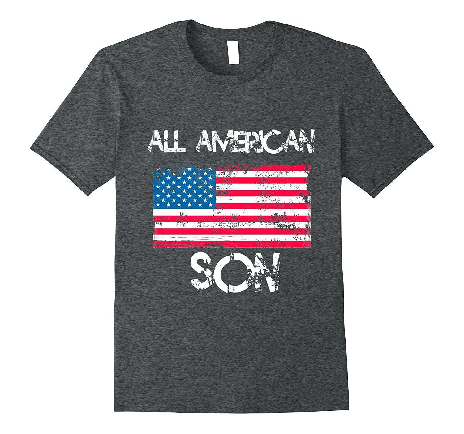 All American Son T Shirt 4th of July Patriotic