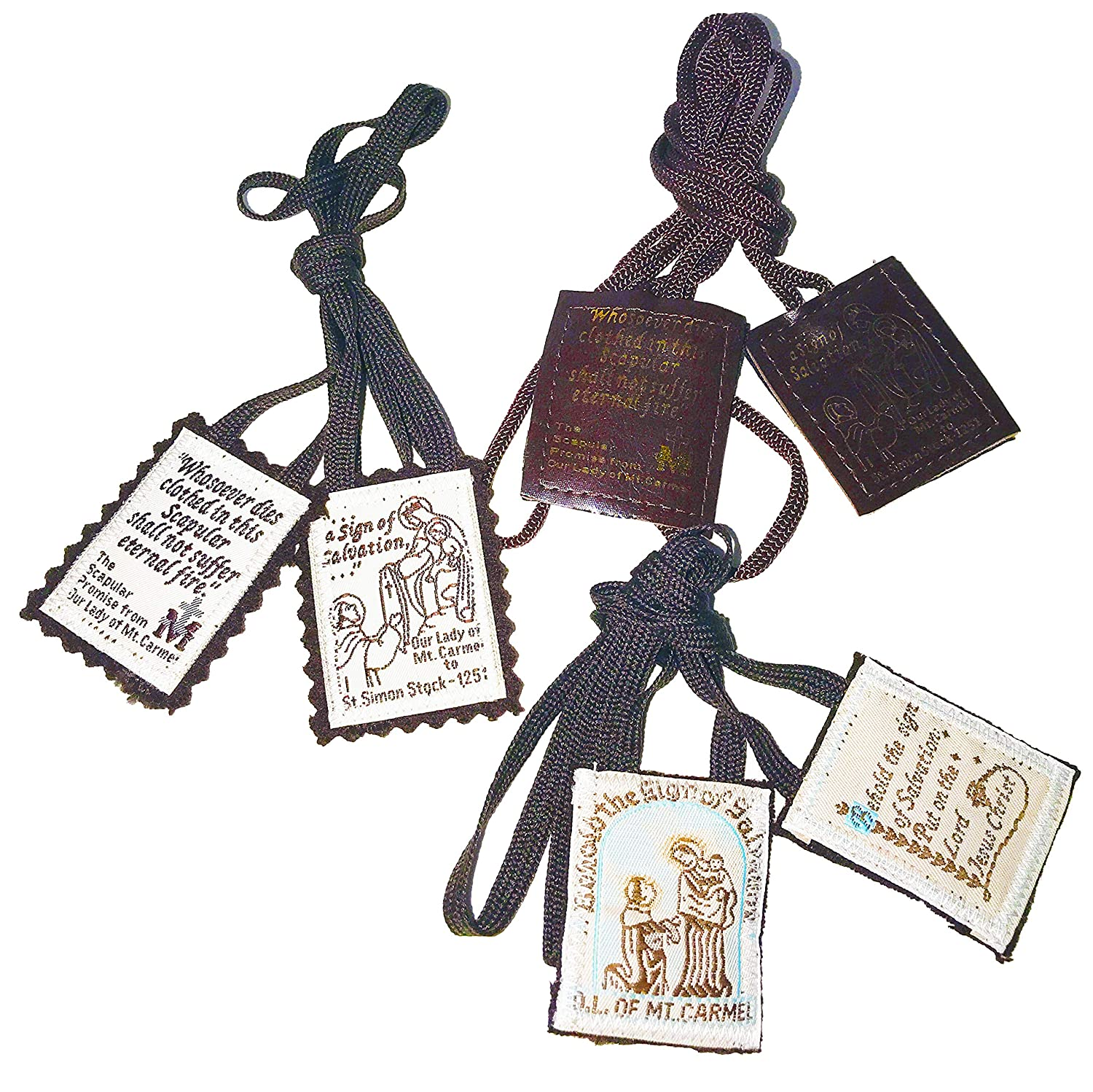 Brown Scapular Favorites | Official Our Lady of Mount Carmel Scapulars |...