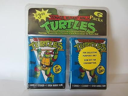 Amazon.com: Teenage Mutant Ninja Turtles 2nd Series Trading ...