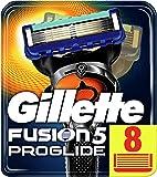 Gillette Fusion5 ProGlide Razor Blades, 8 Refills