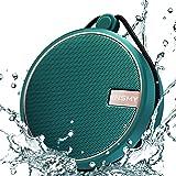 INSMY Portable IPX7 Waterproof Bluetooth Speaker, Wireless Outdoor Speaker Shower Speaker, with HD Sound, Support TF Card, Su