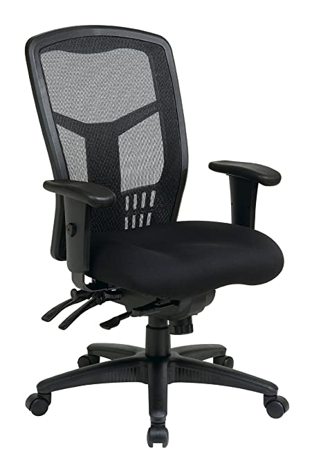Super Office Star High Back Progrid Back Freeflex Seat With Adjustable Arms And Multi Function And Seat Slider Black Managers Chair Gmtry Best Dining Table And Chair Ideas Images Gmtryco