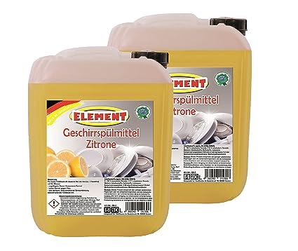 Detergente para lavavajillas concentrado líquido lavavajillas mano Detergente limpiador de limón 20 L Vajilla Vajilla limpiador