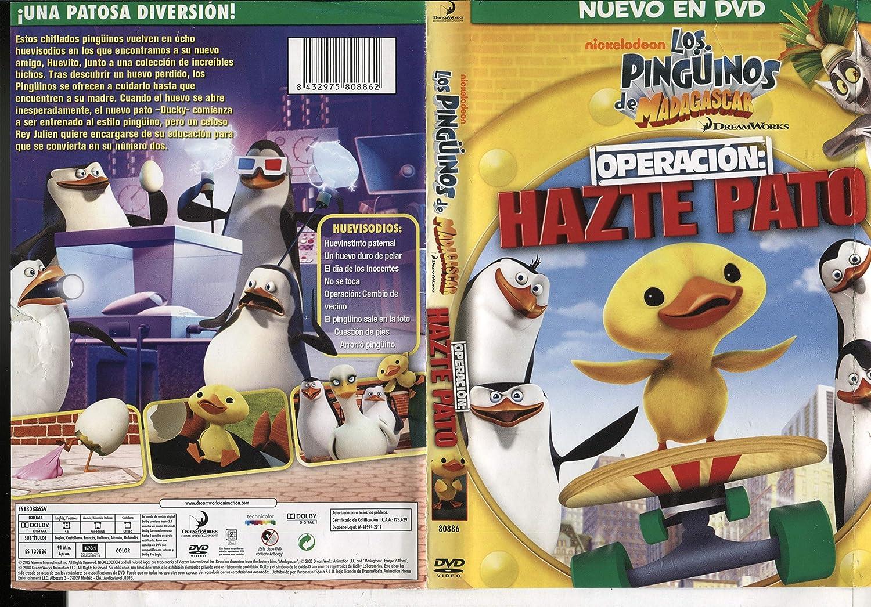 Los Pingüinos De Madagascar: Operación Hazte Pato DVD: Amazon.es: Varios: Cine y Series TV