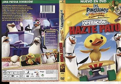 Los Pingüinos De Madagascar Operación Hazte Pato Import Movie European Format Zone 2 2012 Varios Movies Tv