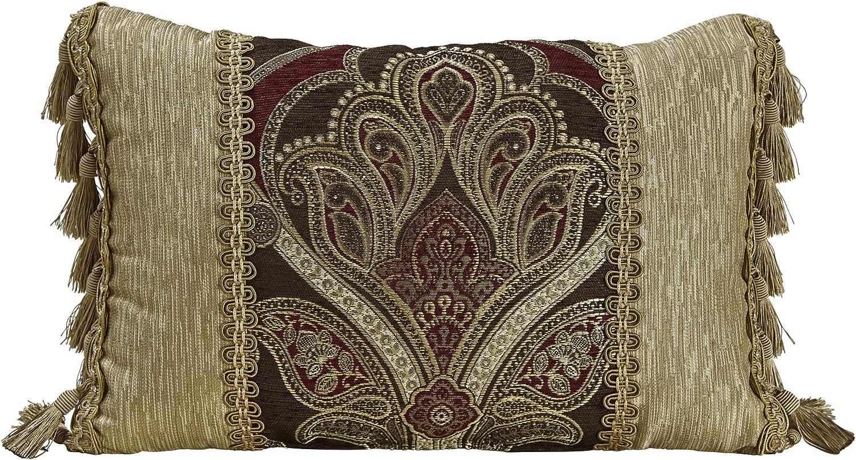 Croscill Bradney Boudoir Throw Pillow 2A0-536O0-0416//610