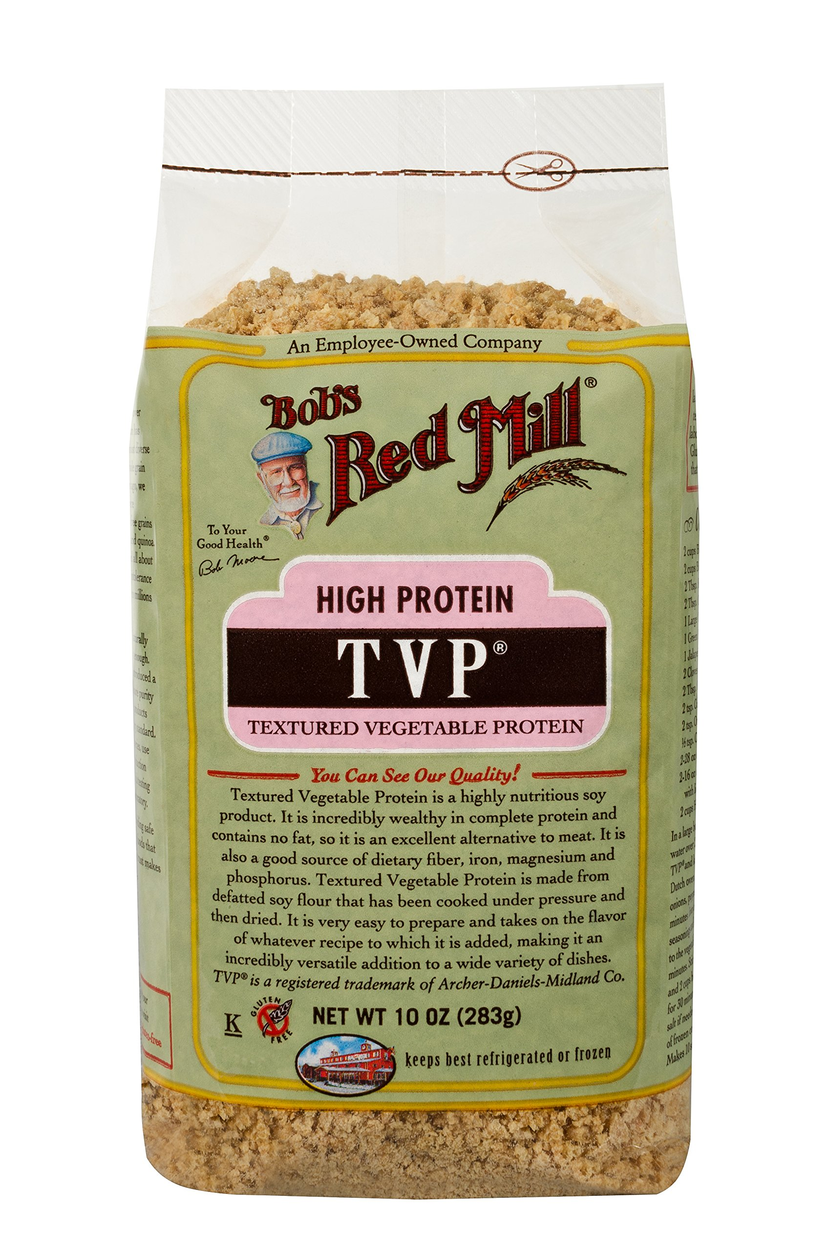 Bob's Red Mill, Texturized Vegetable Protein, 10 oz by Bob's Red Mill (Image #7)