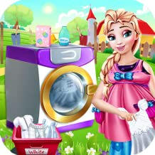 Wash & Fold Dirty Cloth Laundry games for girls