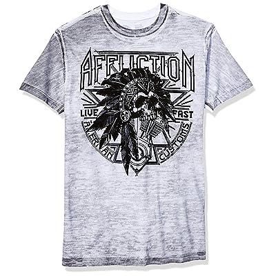 Affliction Men's Sketch Tribe | Amazon.com