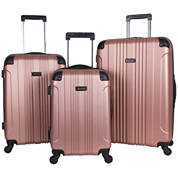 325e257e0693 Kenneth Cole Reaction Out Of Bounds 3-Piece Lightweight Hardside 4-Wheel  Spinner Luggage Set: 20