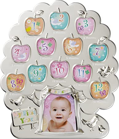 Amazoncom First Year Baby Picture Frame 12 Month Timeline