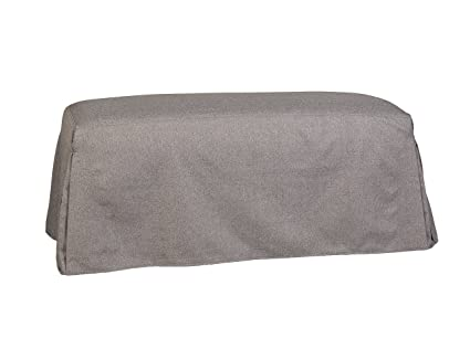 Merveilleux Leffler Home 21000 26 55 01 Pleated Bench Slipcover, Grey