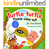 """FARM ANIMAL:""""TURTLE PLEASE COME OUT"""":Beginner readers, early learning readers, Children's picture book 4-8, Bedtime Story(Animal Story book)book for kids, ... values eBook, Manners, (BIG LITTLE FARM 2)"""