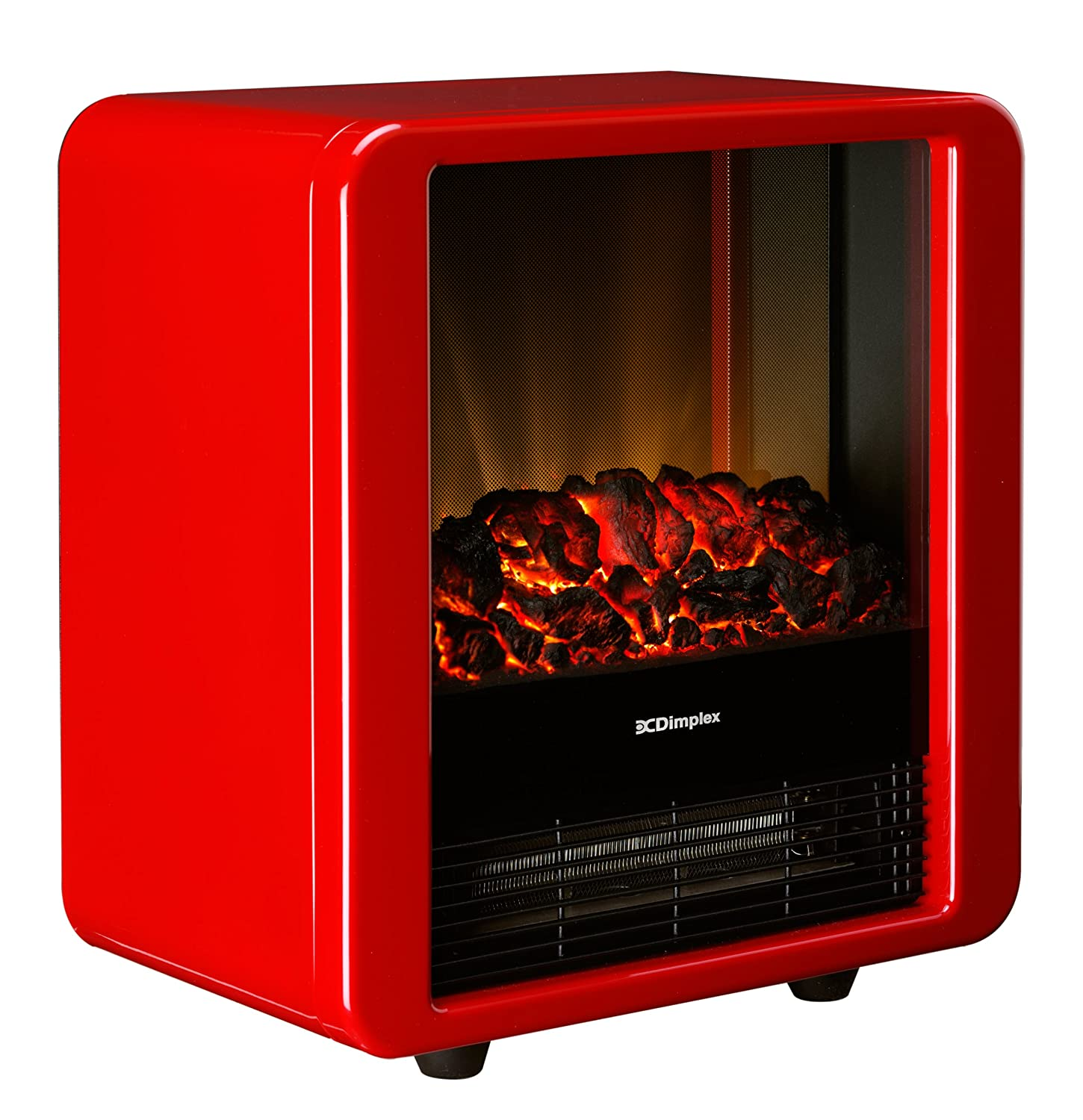 Dimplex 1.5 KW Optiflame Electric Micro Fire in High Gloss - Red Gdc Group Ltd MCF15R