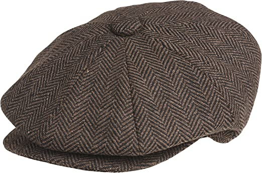 Gorra de Peaky Blinders, lana, de estilo chico repartidor de periódicos: Amazon.es: Ropa y accesorios