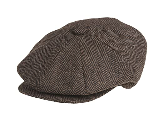 Image Unavailable. Image not available for. Colour  Peaky Blinders 8 Piece   Newsboy  Style Flat Cap ... 7b95483e818