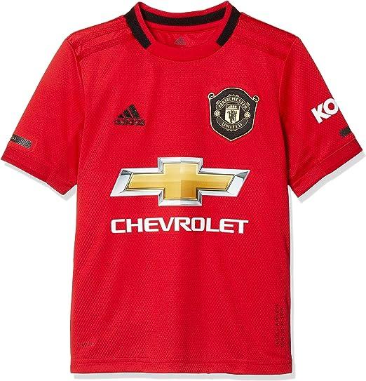 adidas MUFC H JSY Y - Camiseta 1ª Equipación Manchester United ...