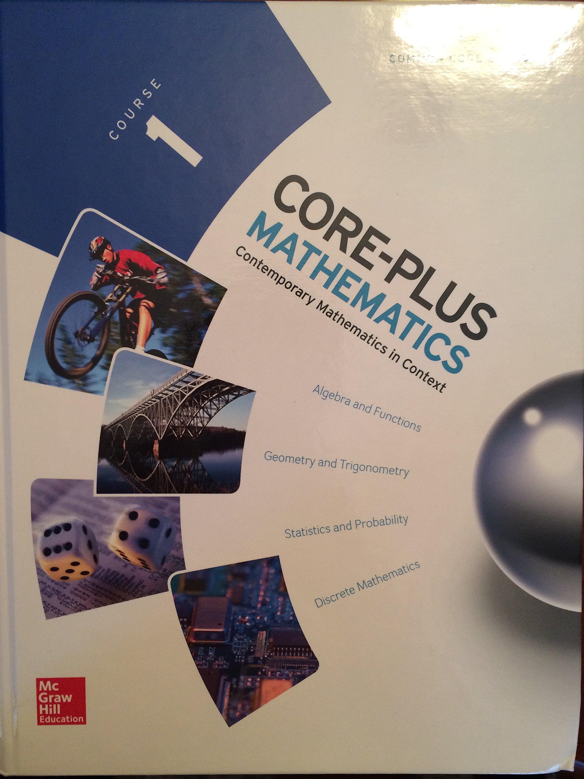 CORE PLUS MATHEMATICS COURSE 1 (Elc: Core Plus): Amazon.es: Mcgraw-Hill Education: Libros en idiomas extranjeros