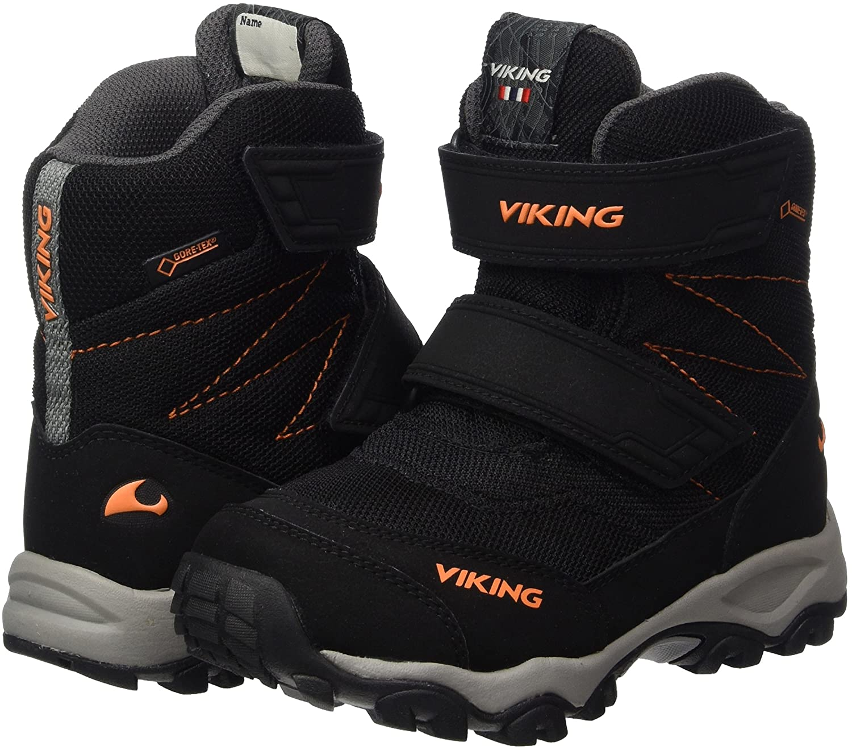 Viking Unisex-Kinder Bifrost III Outdoor Fitnessschuhe, Schwarz  (Black/Orange), 40 EU: Amazon.de: Schuhe & Handtaschen
