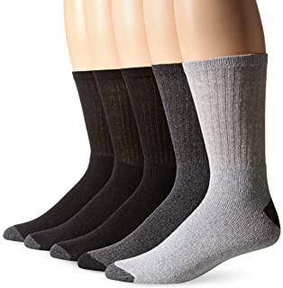 Stanley Mens Mid Weight Crew Work Socks (Pack of ...