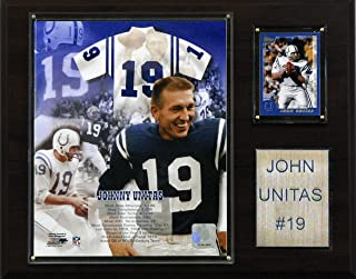 product image for NFL Johnny Unitas Baltimore Colts Player Plaque