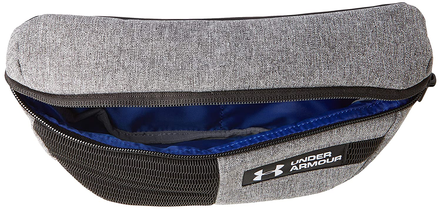 90892c06e58 Amazon.com : Under Armour UA Waist Bag OSFA Graphite Medium Heather :  Sports & Outdoors