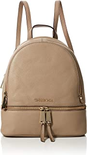 cbcb76f7001de Amazon.com  Michael Kors Womens Rhea Zip Backpack Handbag Beige ...