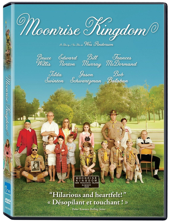 Moonrise Kingdom (Bilingual) Edward Norton Bruce Willis Bill Murray Tilda Swinton