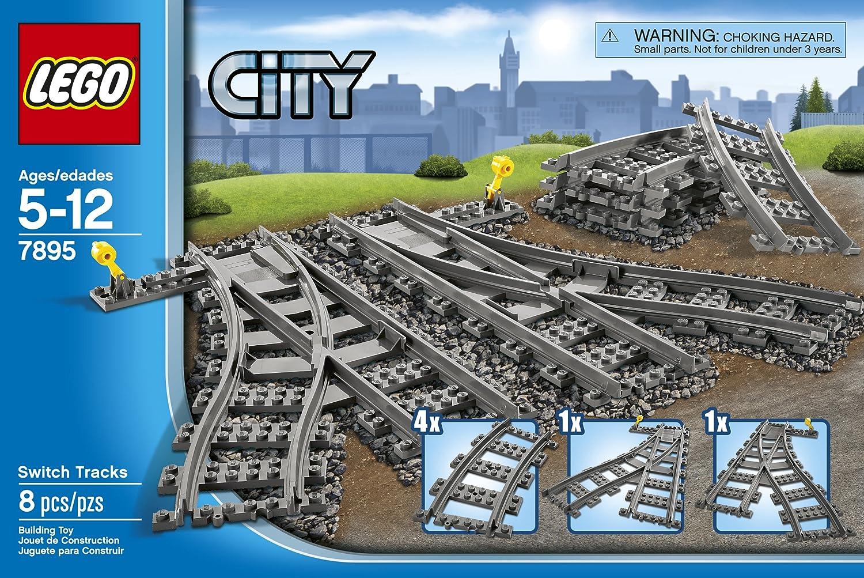LEGO City Switch Tracks 7895 Train Toy Accessory 6176890