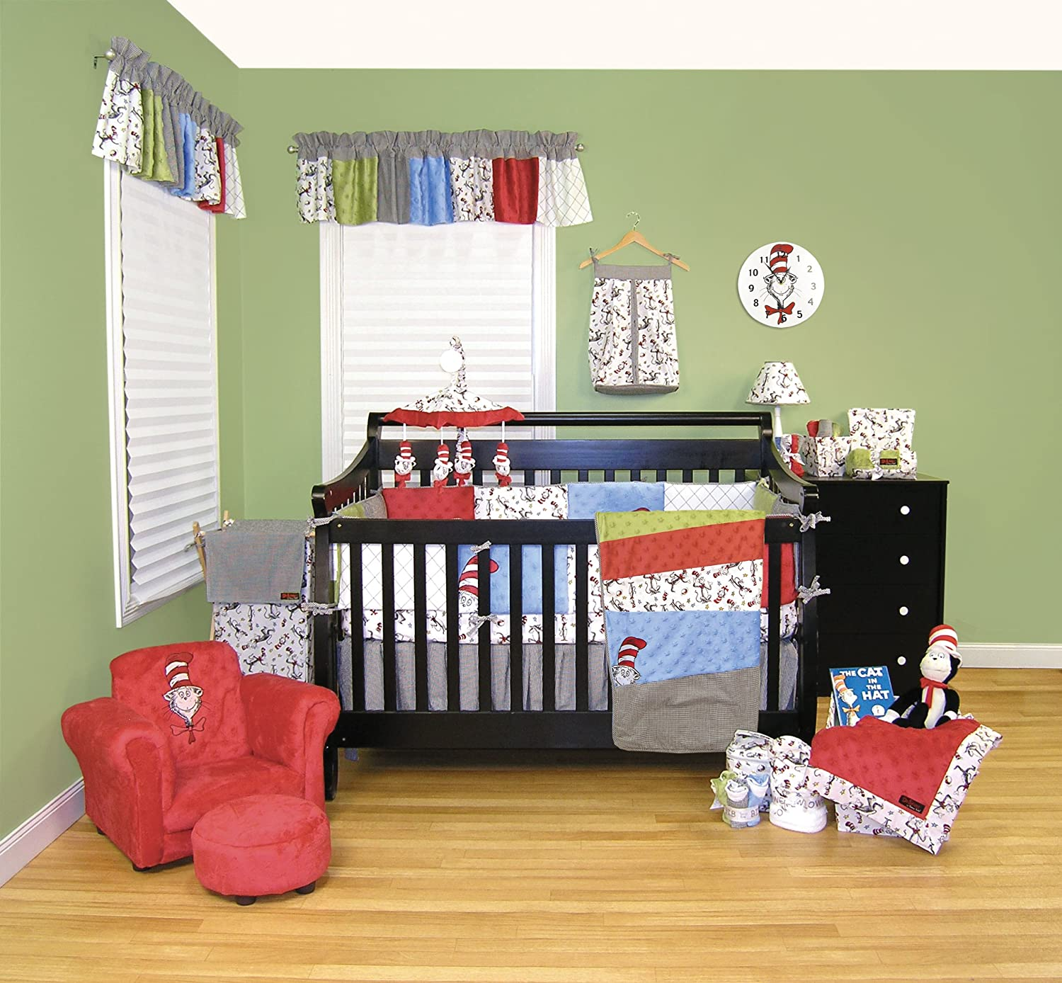 Amazon com   Trend Lab Dr  Seuss Crib Bumpers  Cat In The Hat   Red Baby  Crib Bumpers   Baby. Amazon com   Trend Lab Dr  Seuss Crib Bumpers  Cat In The Hat