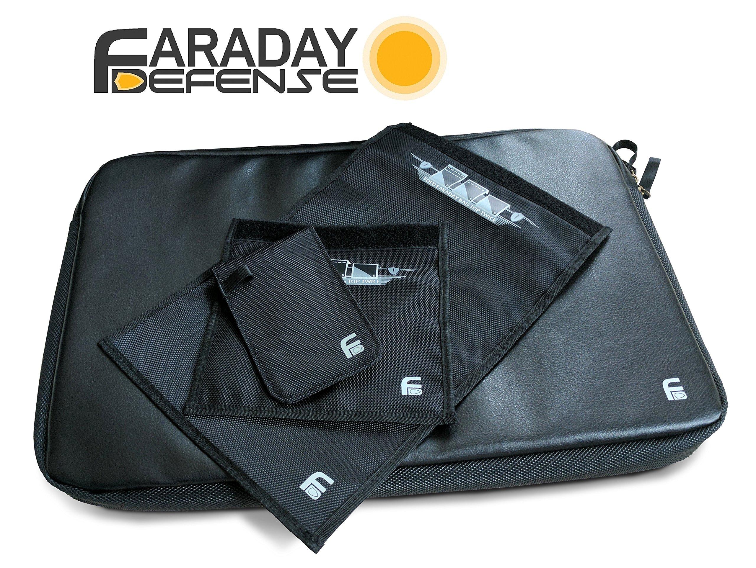 Faraday Defense Laptop, Forensic Bag Kit