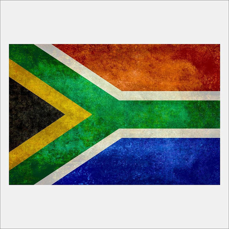 Amazon Com Eframe Fine Art South African Flag Flag Of South