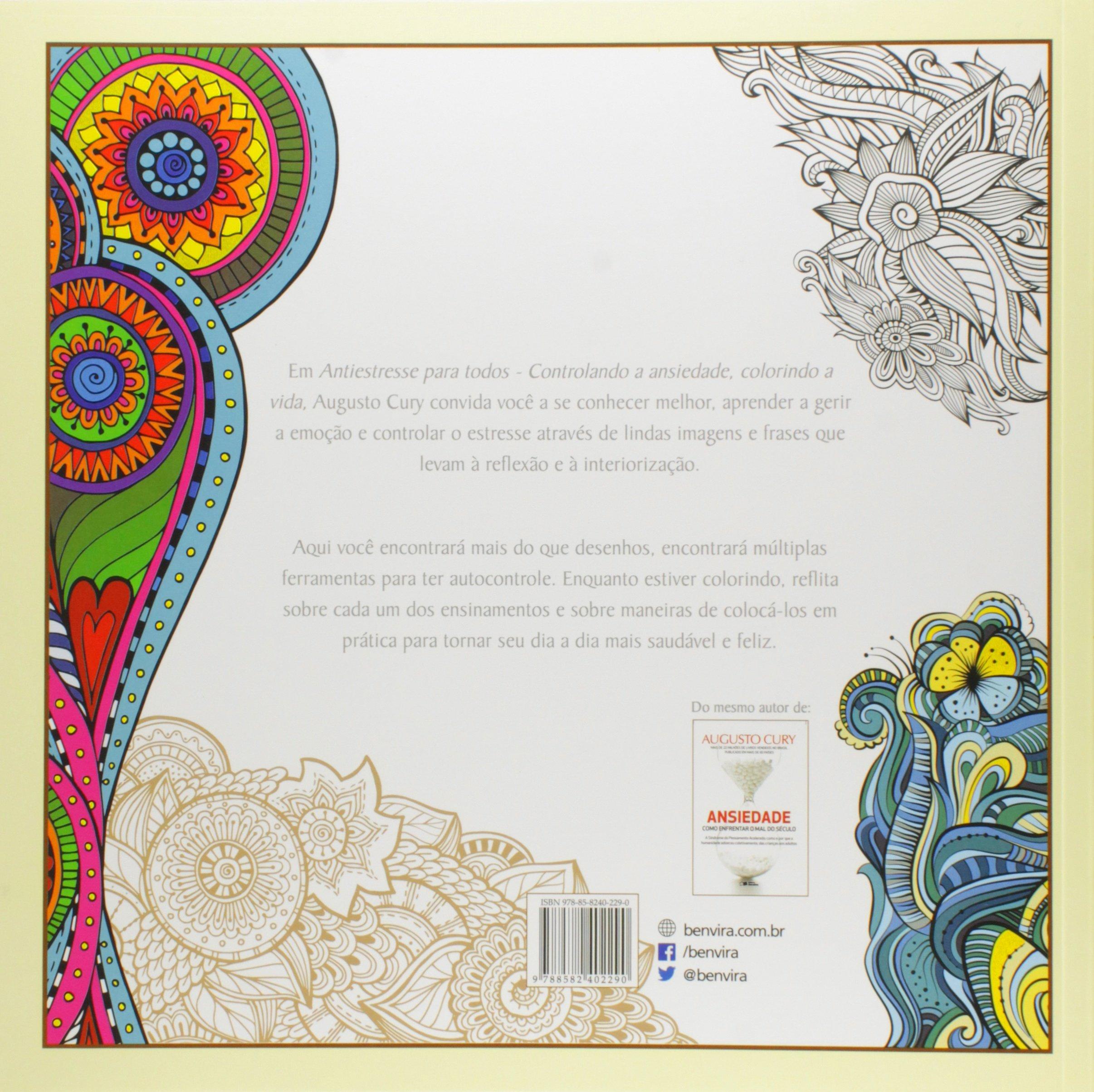 Antiestresse Para Todos Controlando A Ansiedade Colorindo