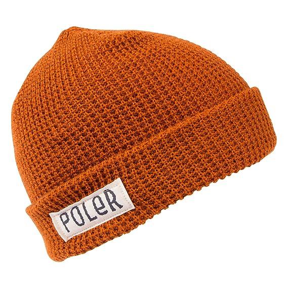Poler Workerman Beanie Orange One Size  Amazon.co.uk  Clothing e8fe8c2fbf3