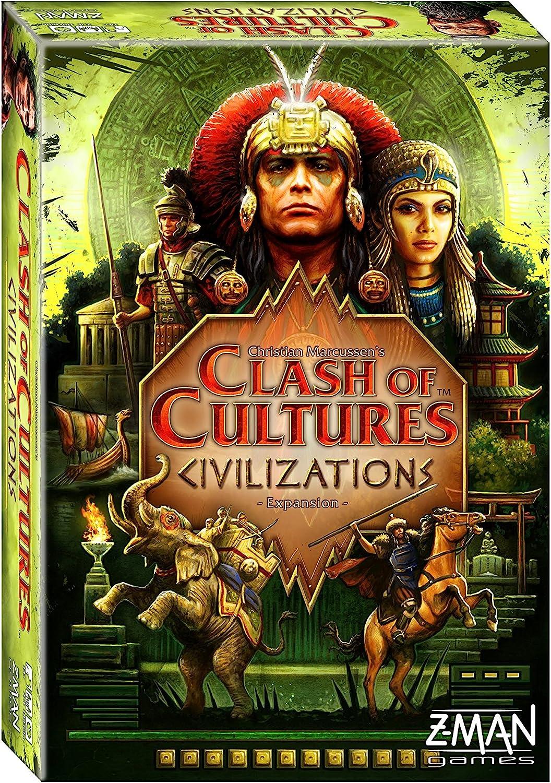 Z-Man Games Clash of Cultures: Civilizations: Amazon.es: Juguetes y juegos