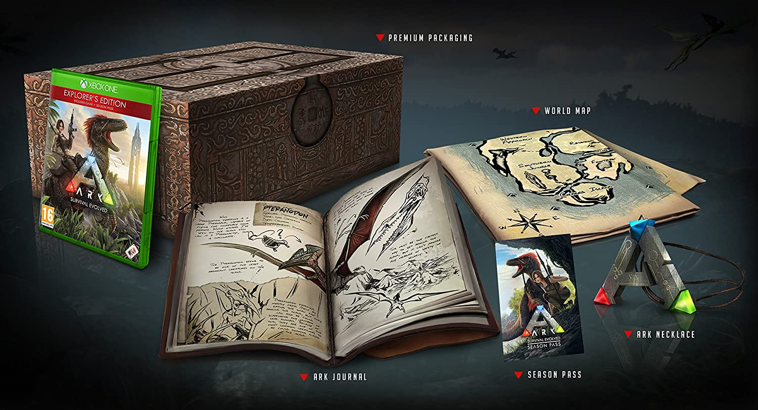 ark survival evolved limited collector s edition xbox one