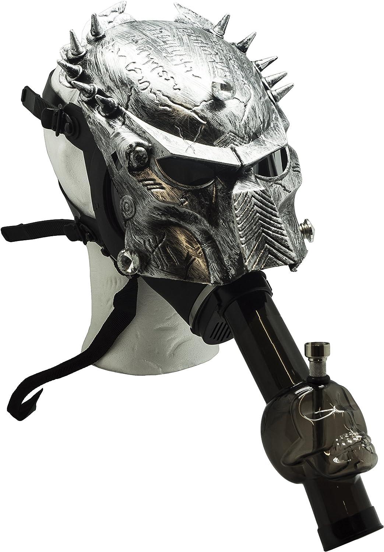 1X Predator Head Silicone Hookah Mask Tobacco Smoking Pipes VS Hookah Mask Pipes