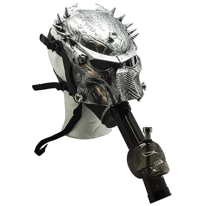 Máscara de gas ajustable para adaptarse a cualquier persona. Elija entre dos diseños clásicos Predator: Amazon.es: Hogar