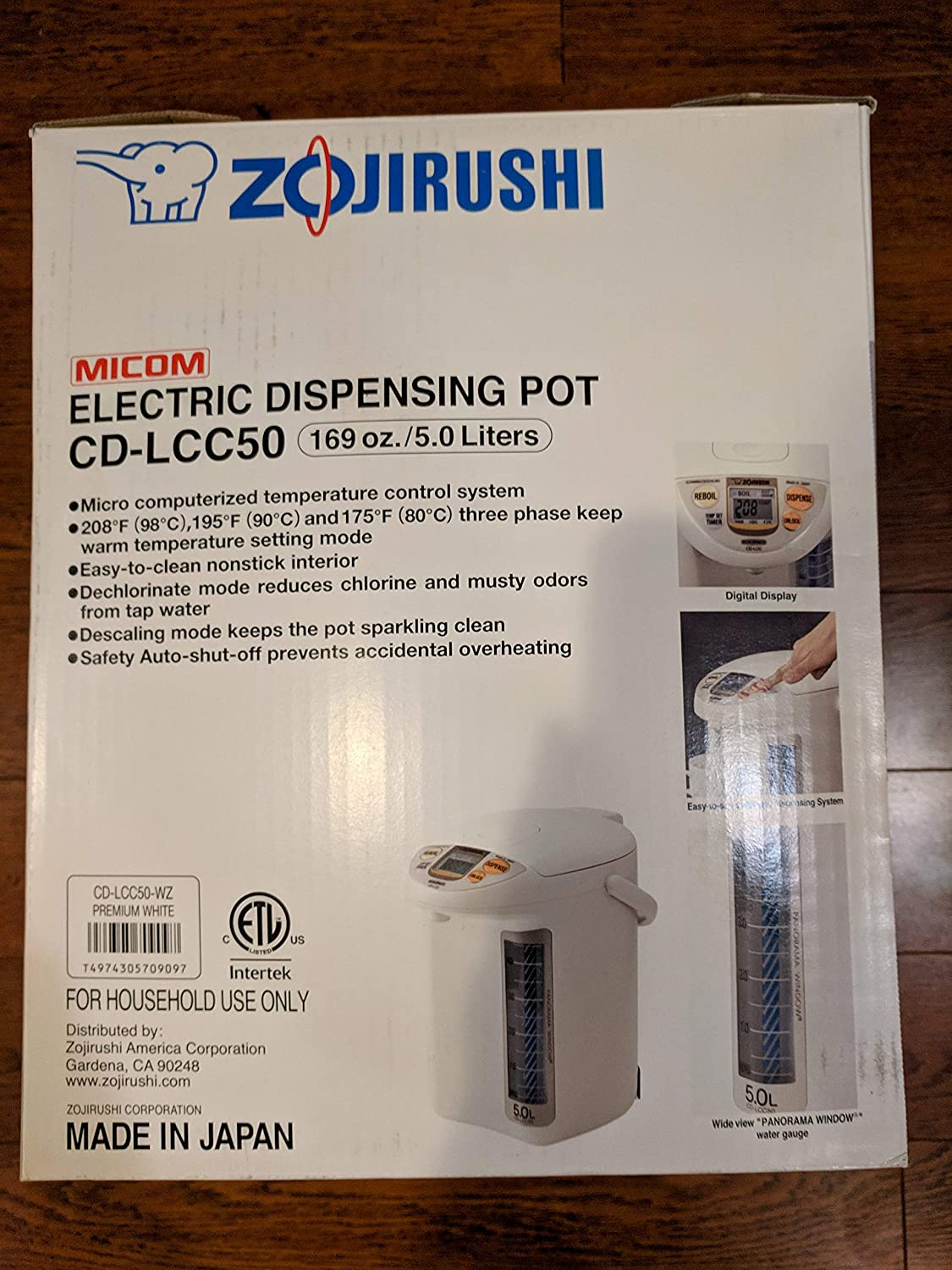Amazon.com: Zojirushi cd-lcc50 Dispensadores de agua ...