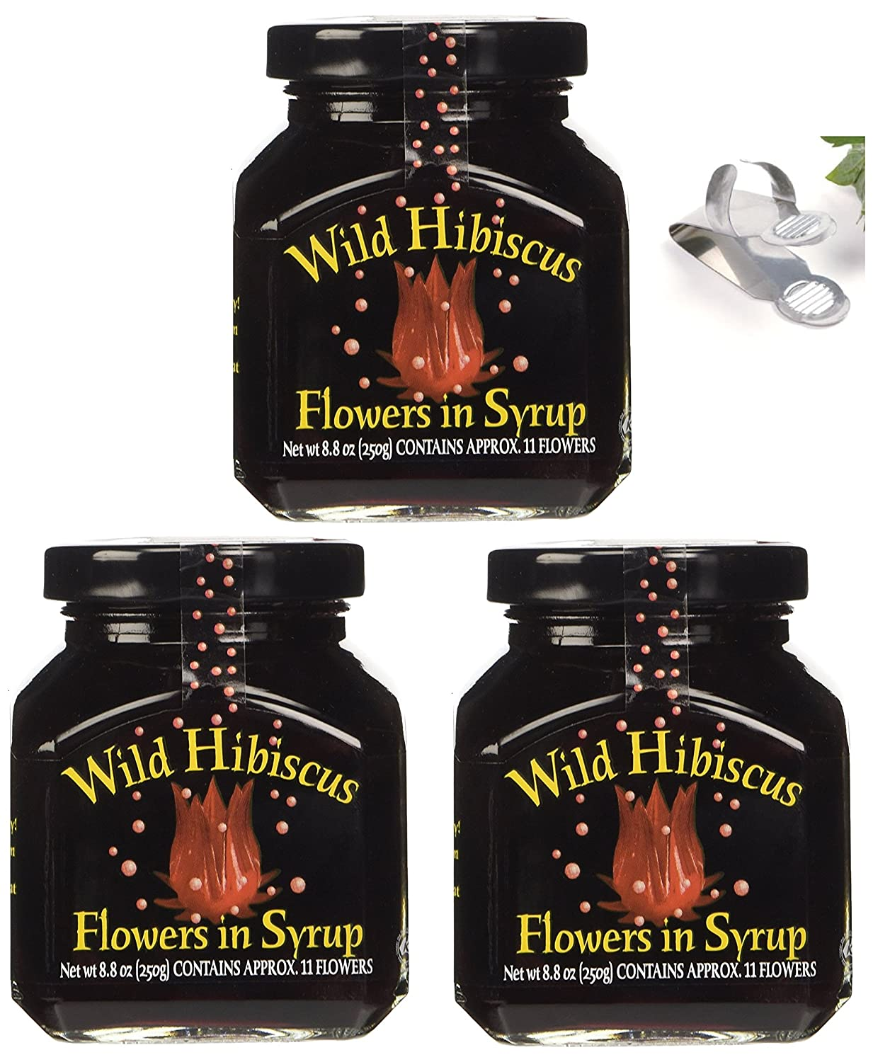 Amazon wild hibiscus flowers in syrup 88 oz 3 pack 3 amazon wild hibiscus flowers in syrup 88 oz 3 pack 3 grocery gourmet food dhlflorist Choice Image