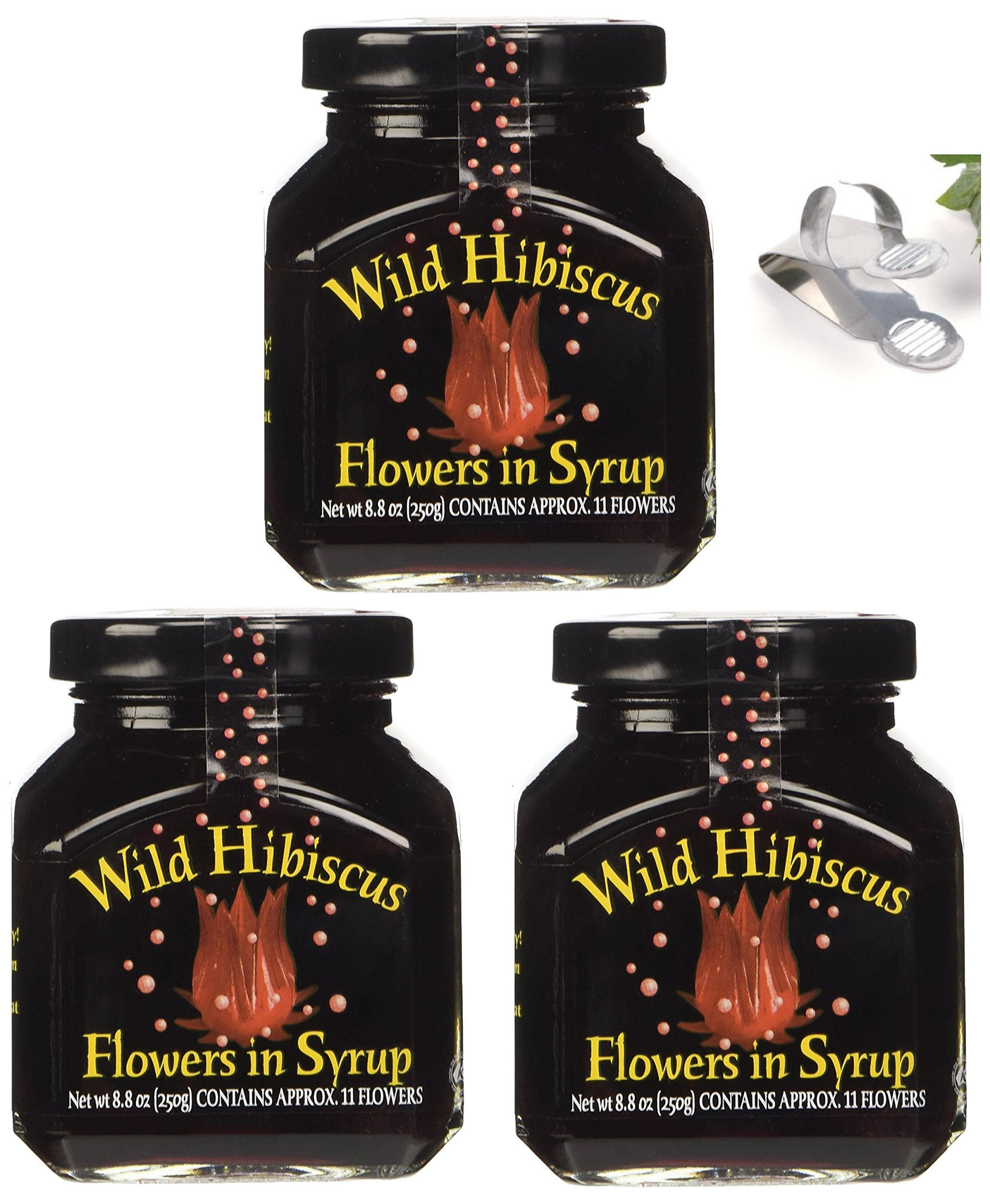 Amazon wild hibiscus flowers in syrup 88 oz 3 pack 3 amazon wild hibiscus flowers in syrup 88 oz 3 pack 3 grocery gourmet food izmirmasajfo