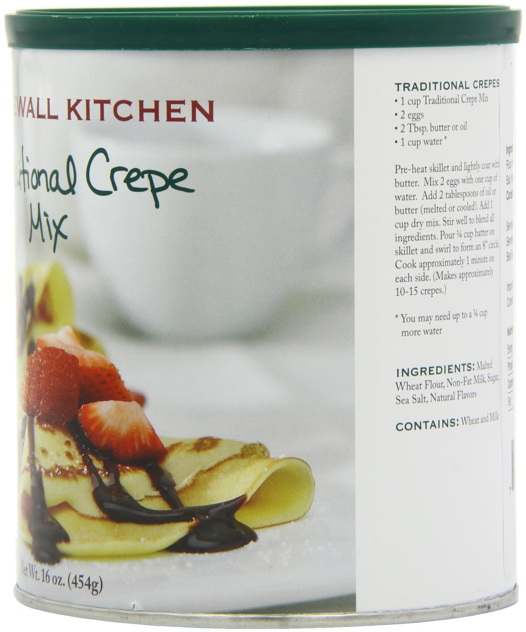 Stonewall Kitchens, Traditional Crepe Mix, 16-Ounce Canisters (Pack of 4) by Stonewall Kitchen (Image #4)