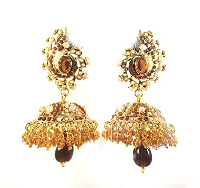 previous manufacturer earrings supplier gold jhumka