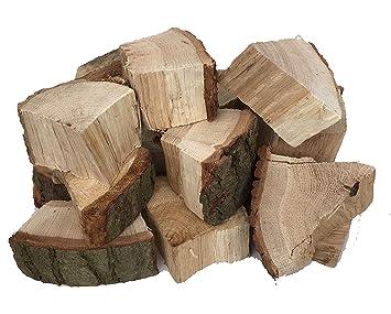 Madera de roble para ahumar barbacoa Smokewood choza de madera pedazos