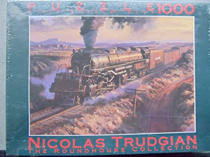 Nicolas Trudgian: The Roundhouse Collection UNION PACIFIC 4-8-8-4 BIG BOY  Puzzle