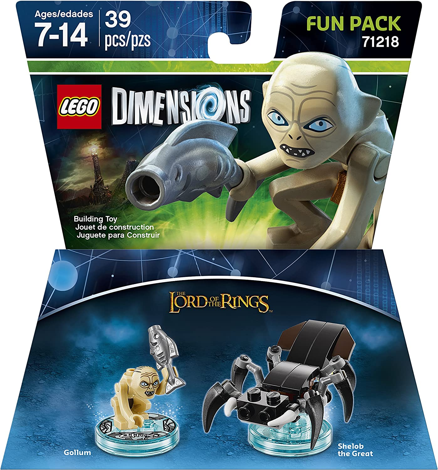 Lord Of The Rings Gollum Fun Pack - LEGO Dimensions by Warner Home ...