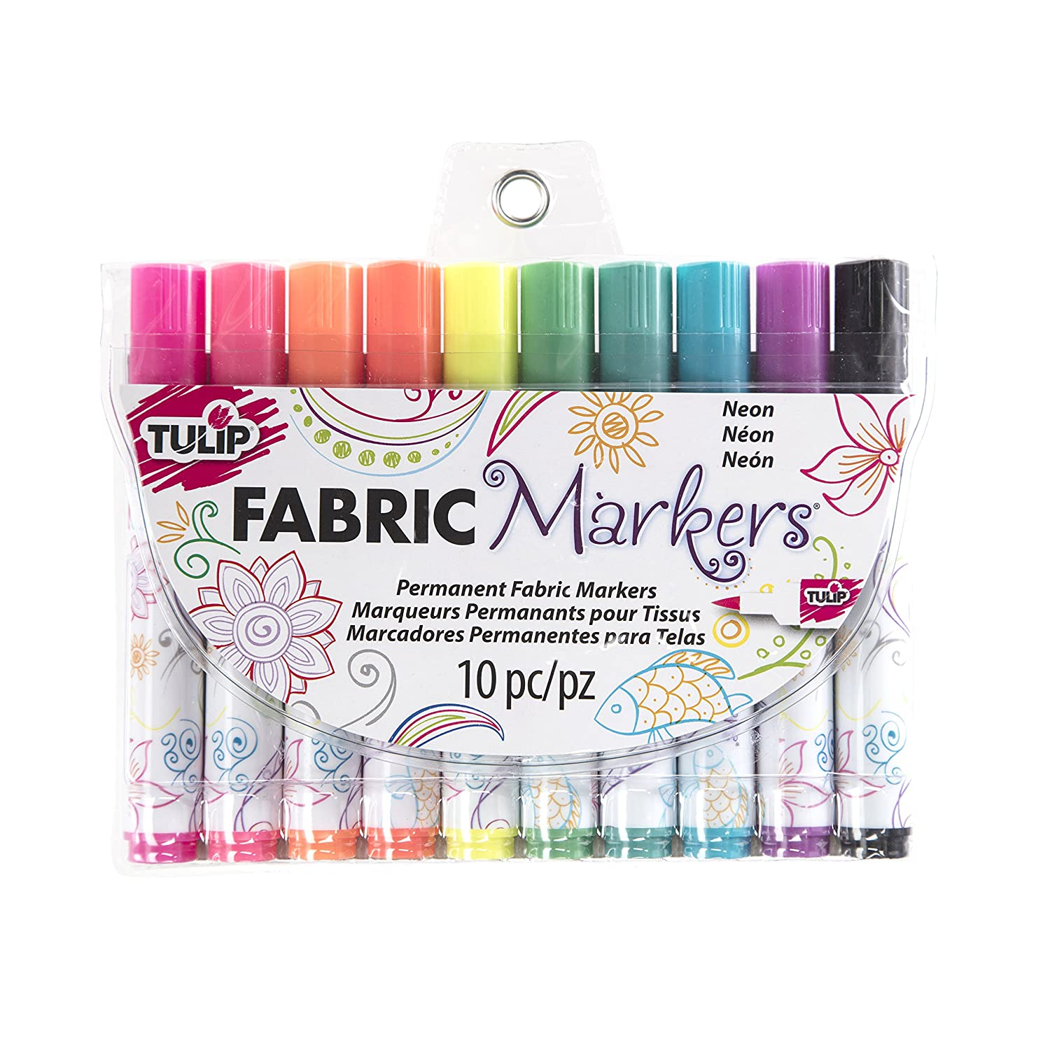I Love To Create Marker Tulip Fabric Markers 10 kg-Neon 31649