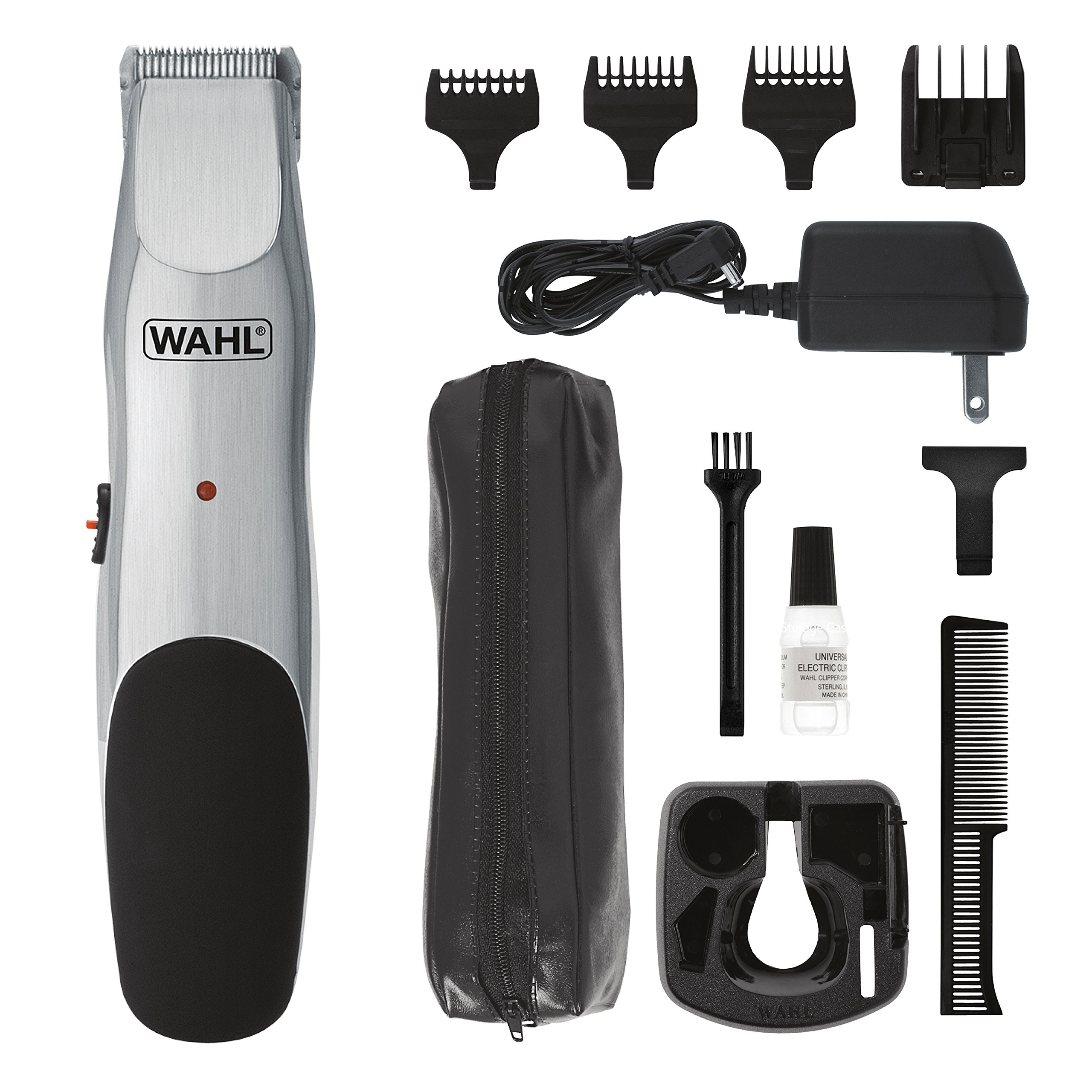 Wahl Clipper Groomsman Cord/Cordless Beard Trimmers for men, Hair Clippers and Shavers, Rechargeable men's Grooming Kit, Gifts for Husband Boyfriend, by the Brand used by Professionals # 9918-6171