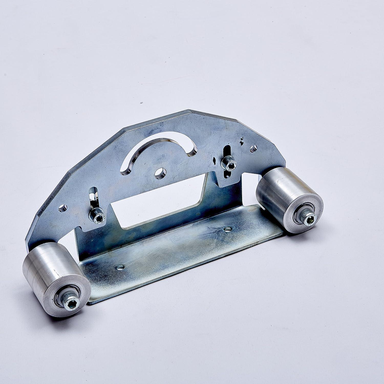 """Belt Grinder D-backing plate for 2x72"""" knife making grinder with wheelss"""