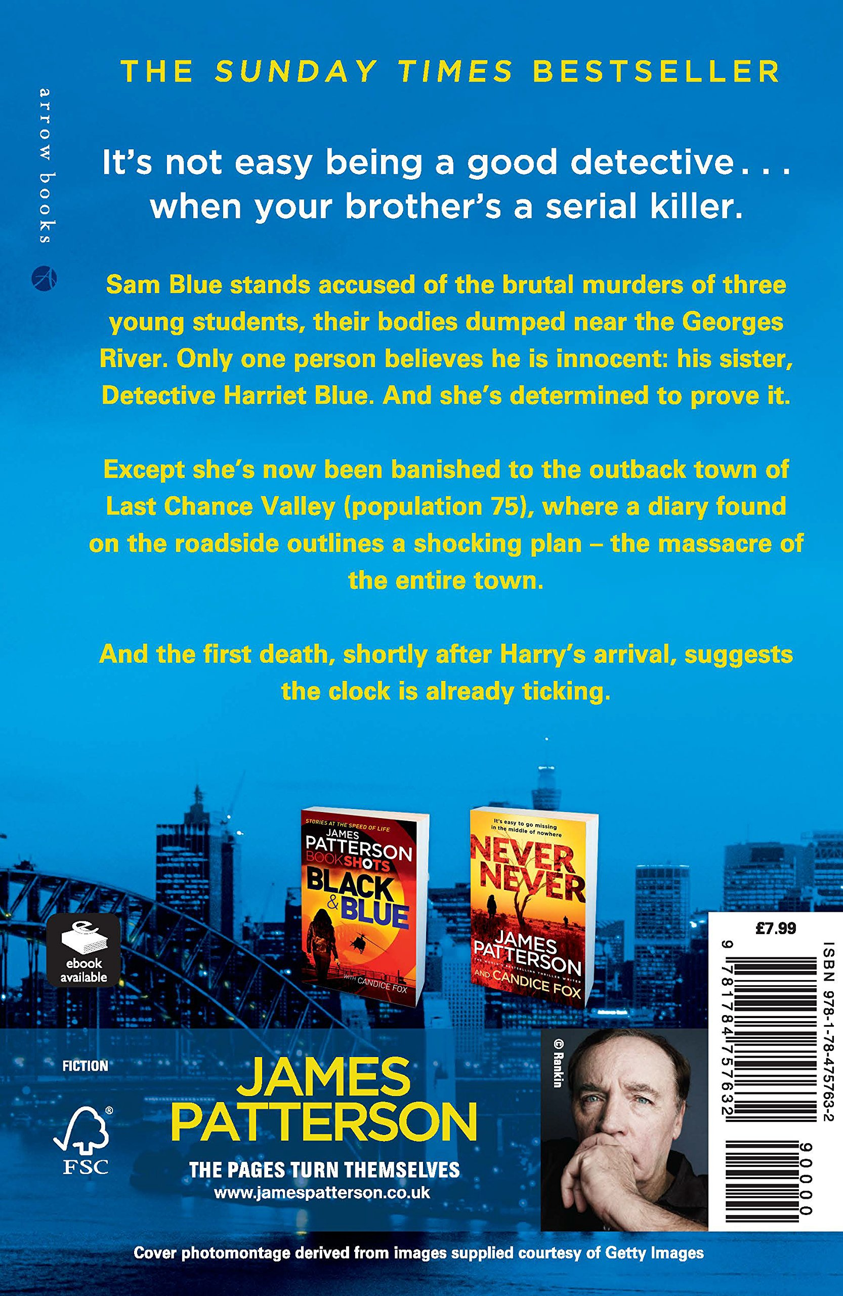Fifty Fifty: (Harriet Blue 2) (Detective Harriet Blue Series ...